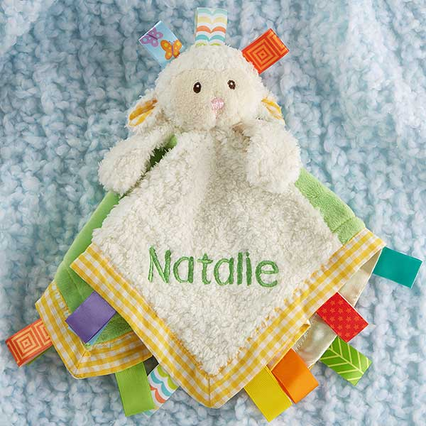 Taggie Baby Blanket Personilized