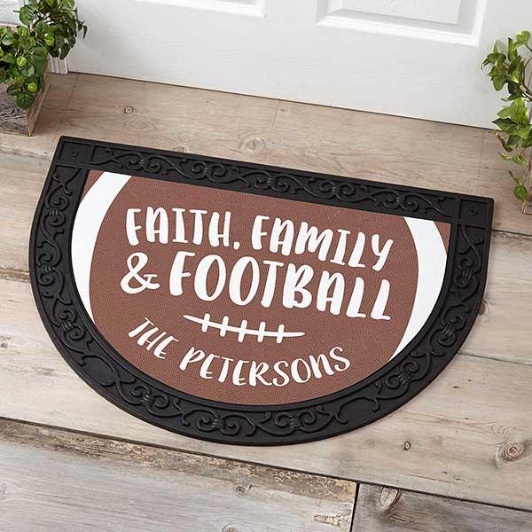 Football Season Personalized Doormats - 21177