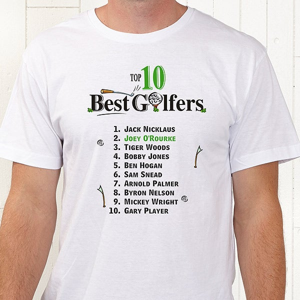 2eeec862 Personalized Top Ten Golfers Shirts and Accessories - 2120