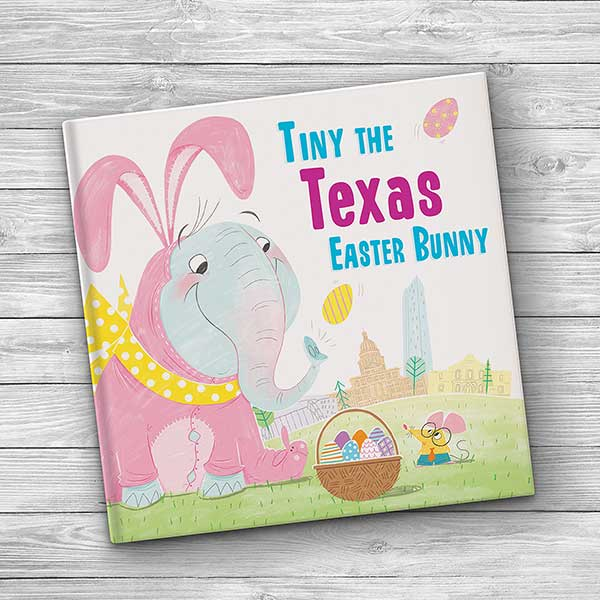 Tiny The Easter Bunny Personalized Storybook - 21207