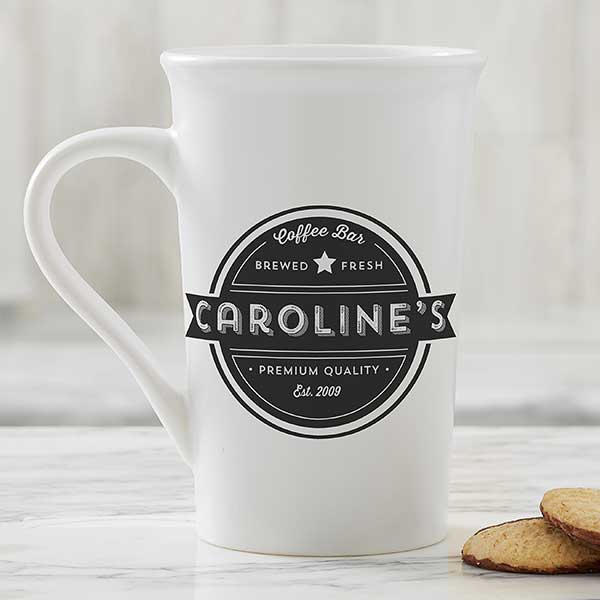 Personalized Coffee Mugs - Coffee House - 21292