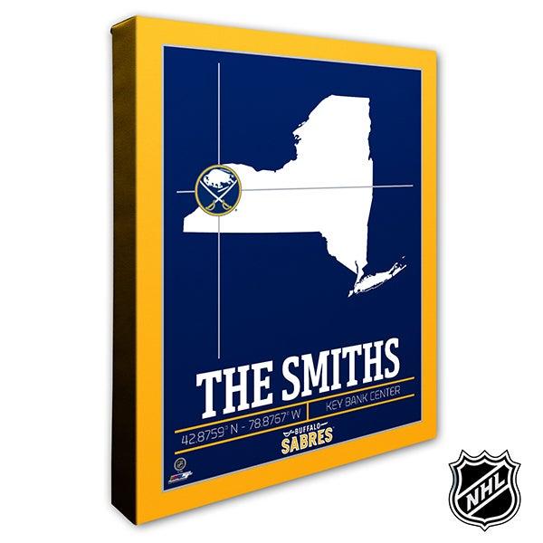 Buffalo Sabres Personalized NHL Wall Art - 21307