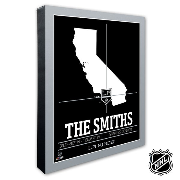 LA Kings Personalized NHL Wall Art - 21317