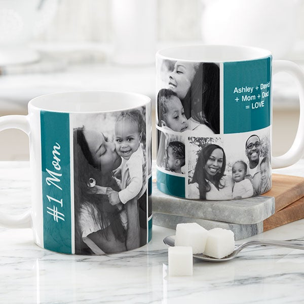 Custom Photo Collage Mugs For Her - 21371