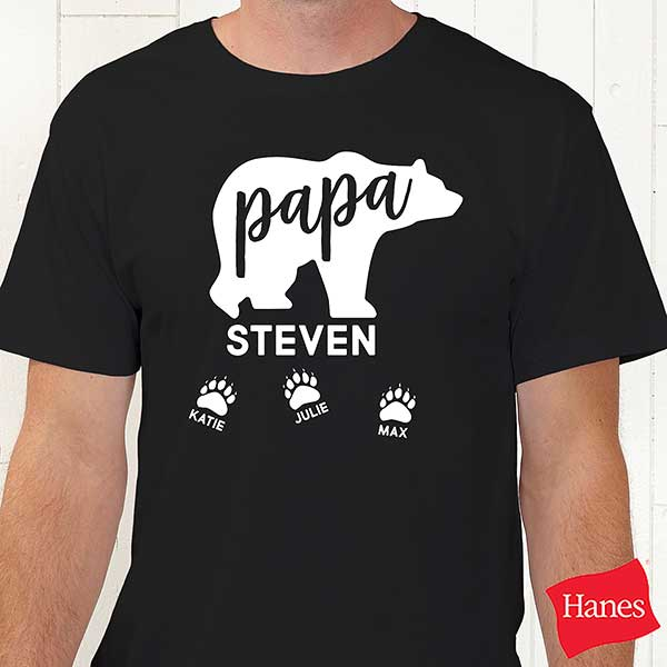 Personalized Papa Bear Clothes - 21383