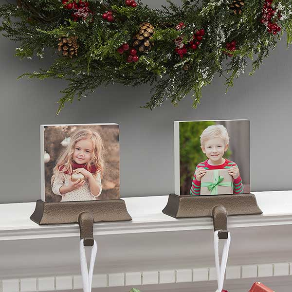 Personalized Photo Stocking Holders - 21526