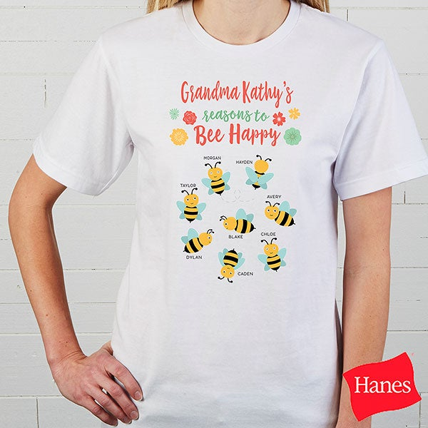 Bee Happy Personalized Ladies Clothing - 21581