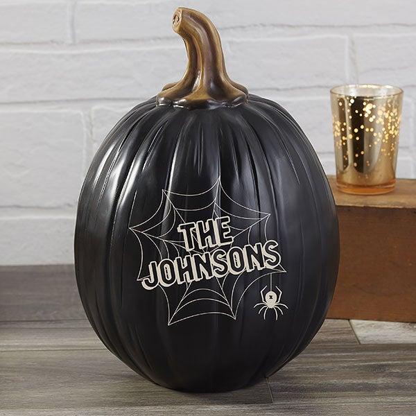 Personalized Pumpkins - Spiders & Spiderwebs - 21608