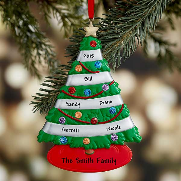 Our Family Tree Personalized Ornament - 21680