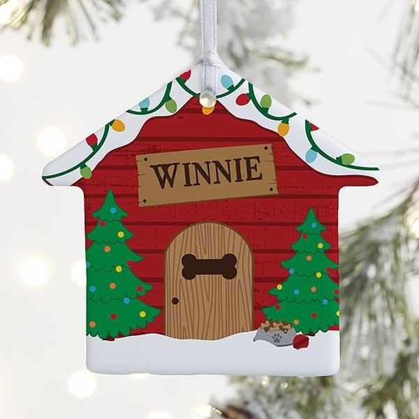 Good Dog! Personalized Dog House Ornament - 21698