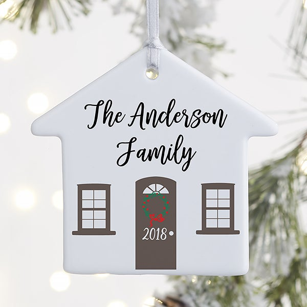 Home For The Holidays Personalized Ornaments - 21700