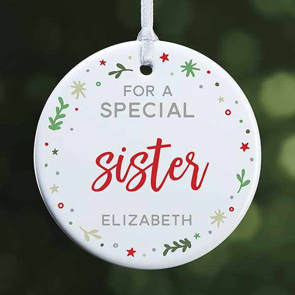 Special Christmas Ornaments.You Are Special Small Personalized Ornament