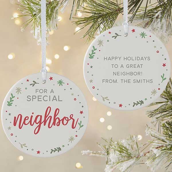 Special Christmas Ornaments.You Are Special 2 Sided Large Personalized Ornament