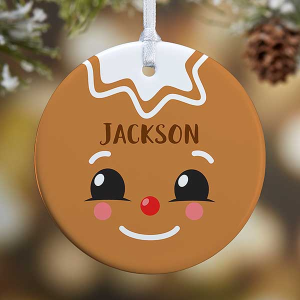 Personalized Ornaments - Gingerbread Characters - 21706