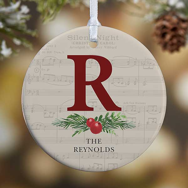 Personalized Christmas Ornaments - Nostalgic Noel - 21712