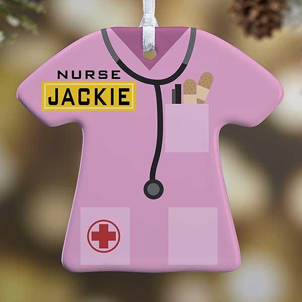 Personalized Nurse Christmas Ornament - 21717