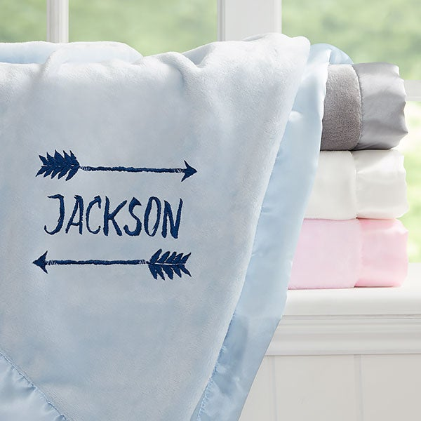 Embroidered Baby Blankets With Name For Boys & Girls - 21730