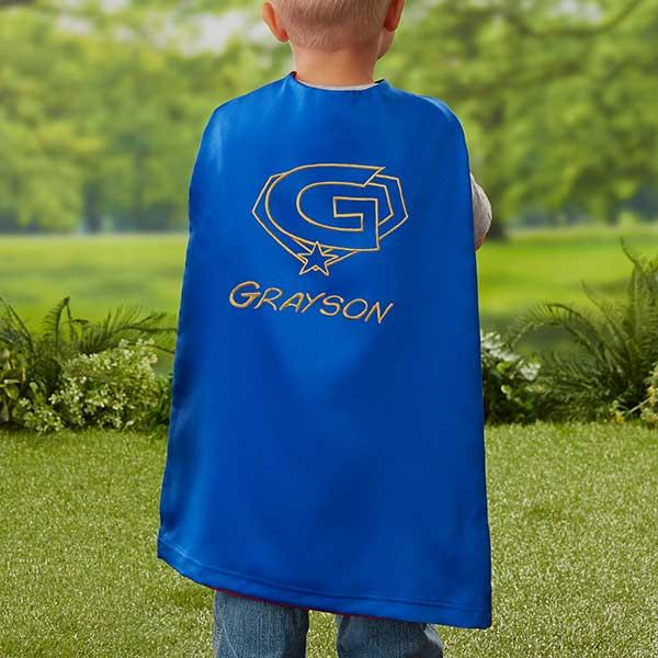 Personalized Super Hero Cape For Kids - 21799