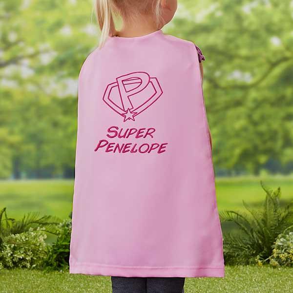 Personalized Super Hero Cape For Kids 21799
