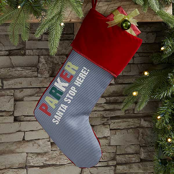 All Mine Personalized Kids' Christmas Stockings - 21863