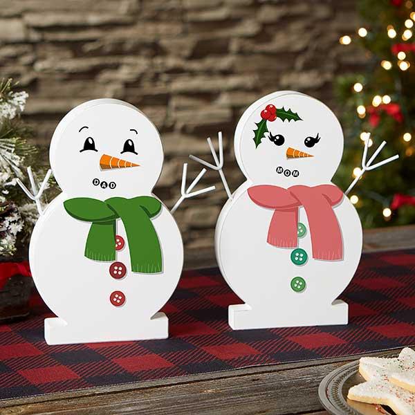 Snowman Face 9 5 Wooden Snowman Christmas Corner