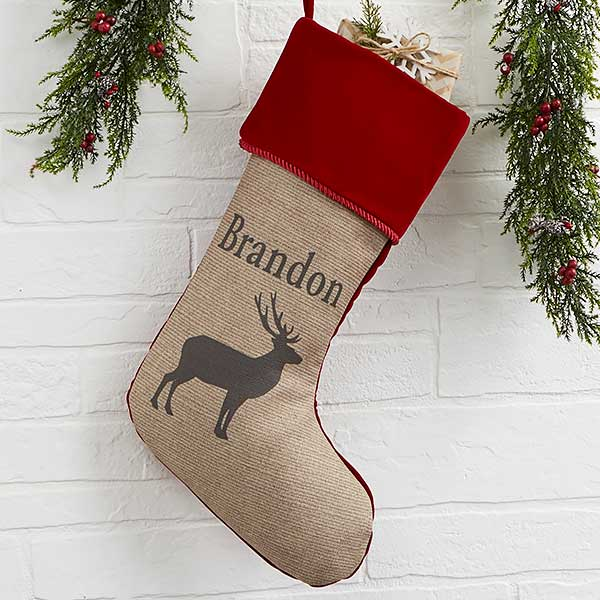 Outdoorsmen Personalized Christmas Stockings - 21882