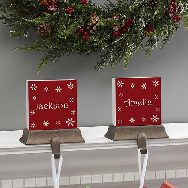 Winter Wonderland Personalized Stocking Holders - 21947