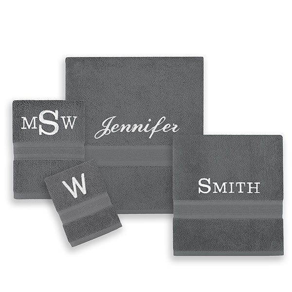 Wamsutta Icon Pima Cotton Personalized Towels - 21953