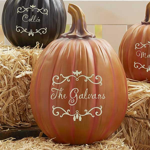 Personalized Pumpkins - Halloween Vines - 21960