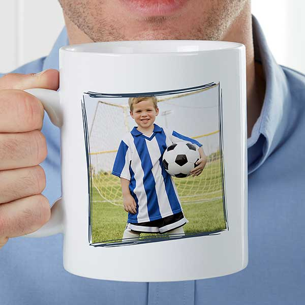 Personalized Oversized Photo Coffee Mug - Definition of Him - 22040