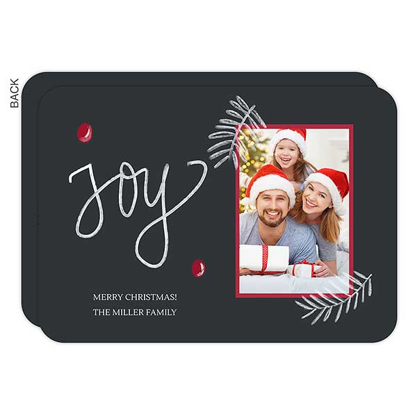Joy Berry Holiday Photo Cards - 22075
