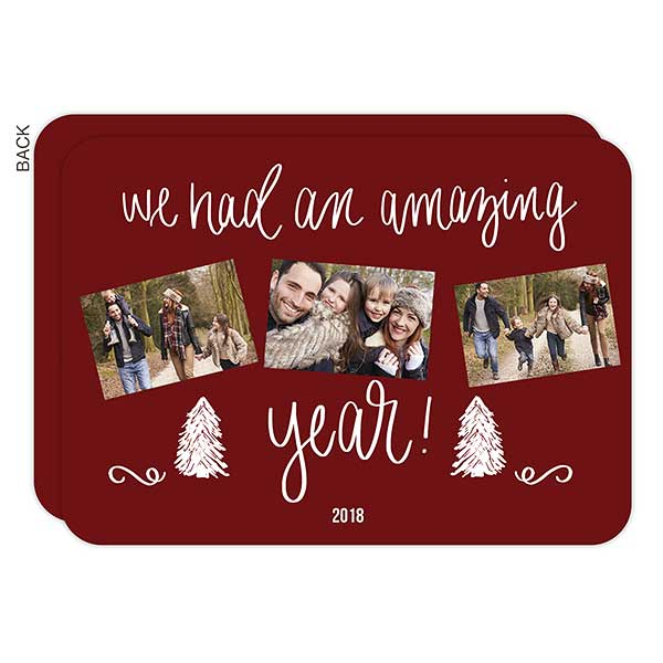 Amazing Year Photo Holiday Cards - 22162