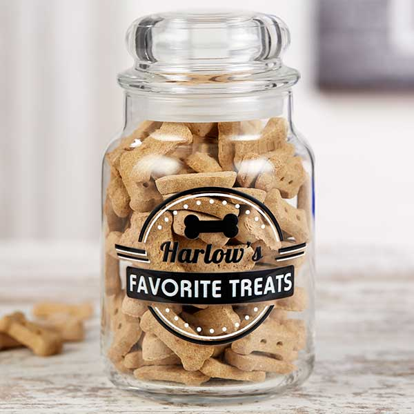 Doggie Diner Personalized Dog Treat Jar - 22225