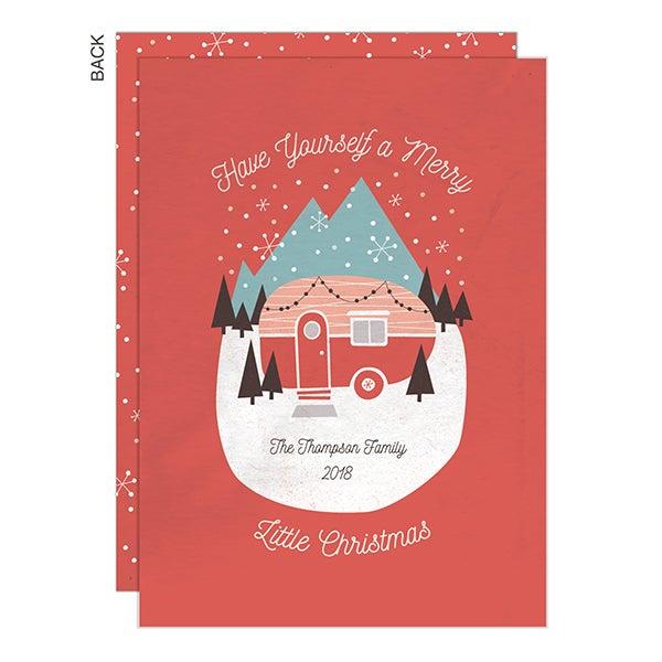 Vintage Camper Christmas Cards - 22284