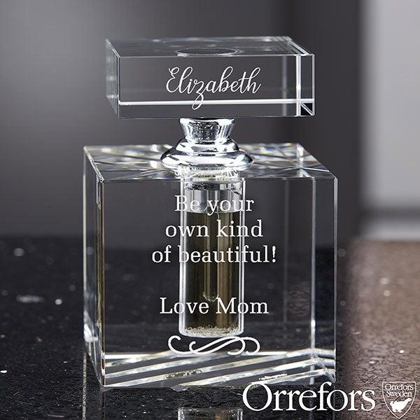 Orrefors Engraved Message Perfume Bottle - 22312
