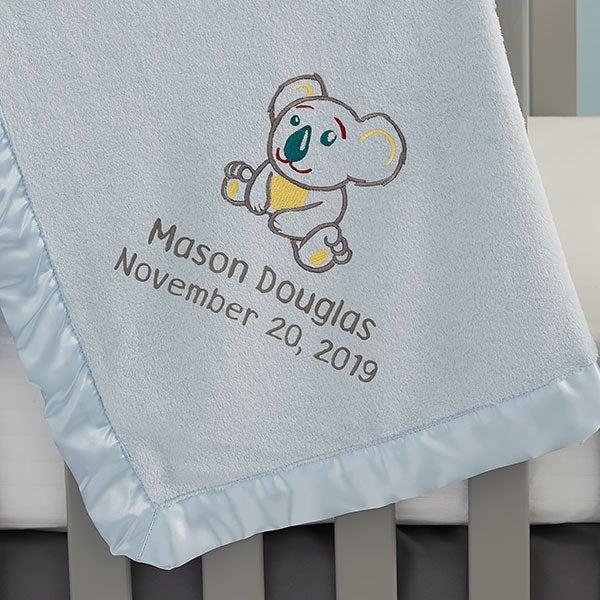 Embroidered Koala Baby Blankets - 22315