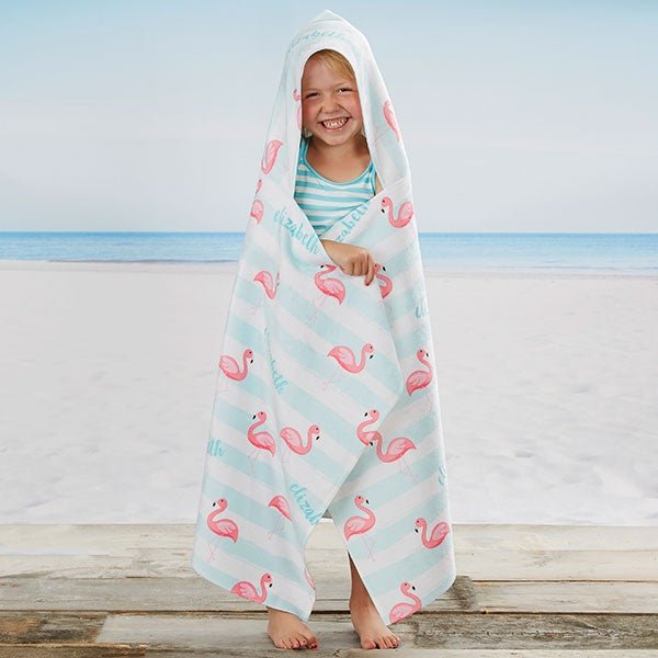 Personalized Beach Towel Girls Hooded Towel Graduation Gifts Boys Hooded Towel Bath Towel Embroidered Hooded Towel