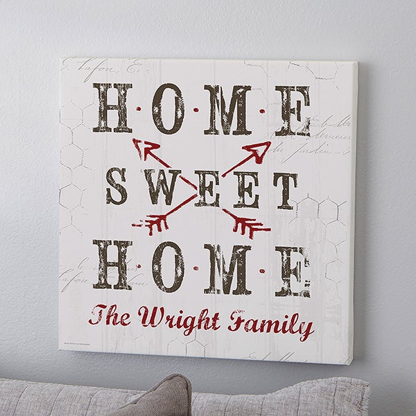 Farmhouse Home Personalized Canvas Prints - 22405