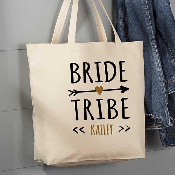 Canvas Tote Medium Bride Tribe