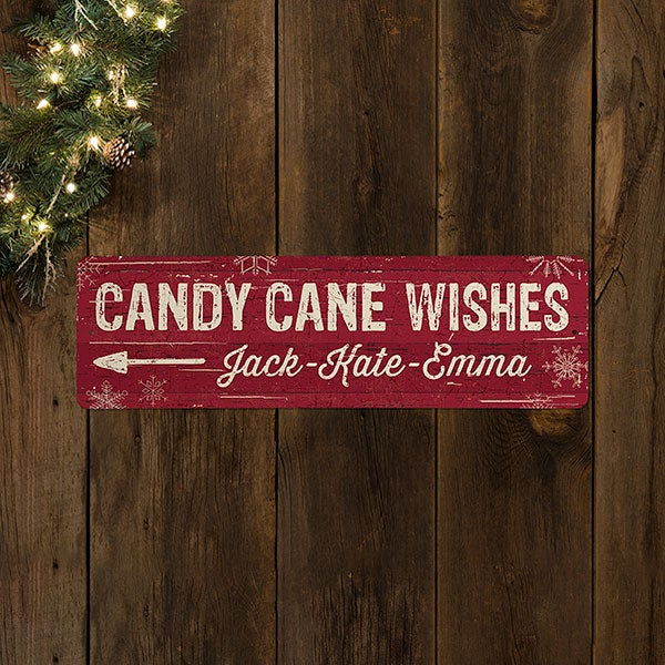 Christmas Lane Personalized Street Signs - 22700