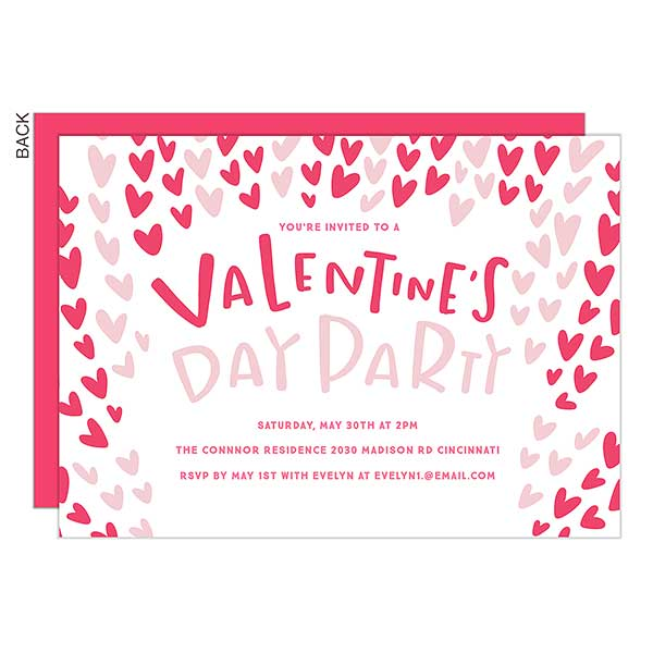 Valentine S Galentine Day Personalized Party Invitations 22922