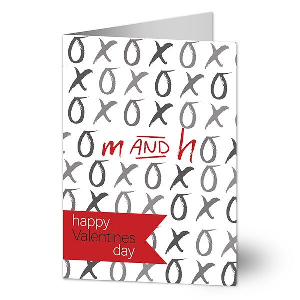 Couple's Love Personalized Valentine's Day Greeting Cards - 22961