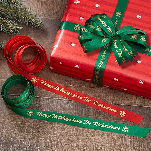 Personalized Wrapping Ribbon - Finishing Touches - 2298D