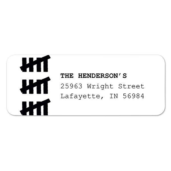 Birthday Countdown Address Labels - 23293
