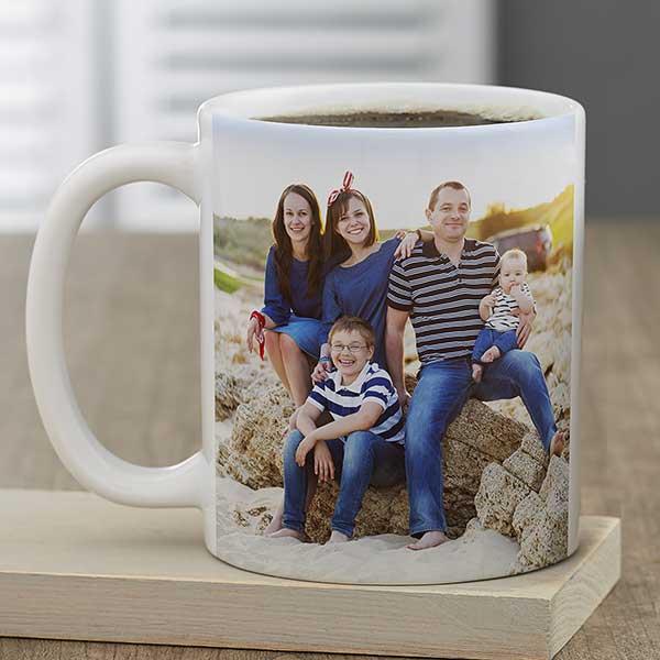 Family Photo Personalized Coffee Mugs