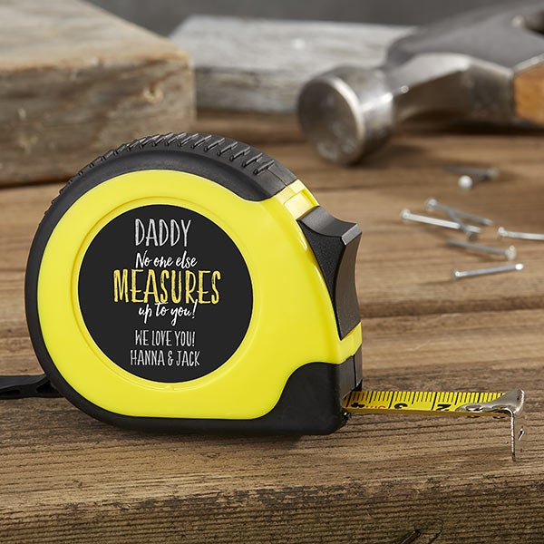 Personalized Tape Measure - Gift For