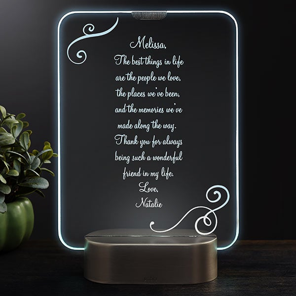 Personalized LED Light Gifts - Engraved