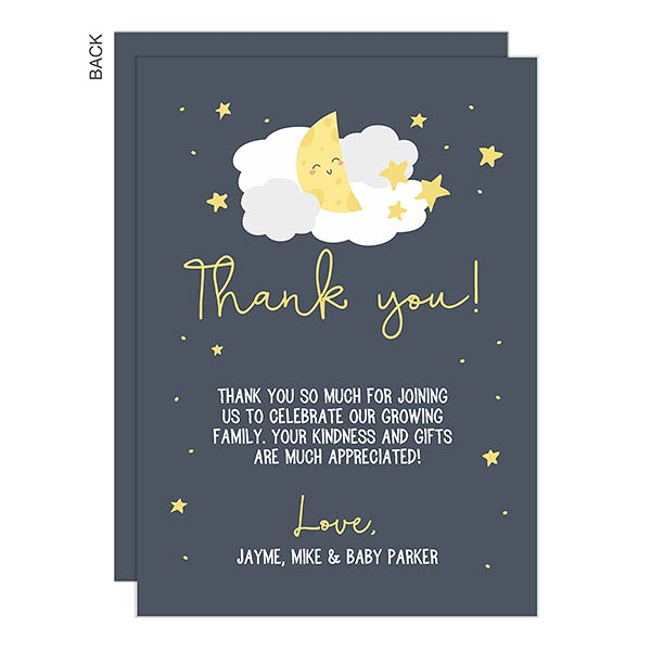 Unique Thank You Card Ideas: Twinkle, Twinkle Baby Shower Thank You Cards