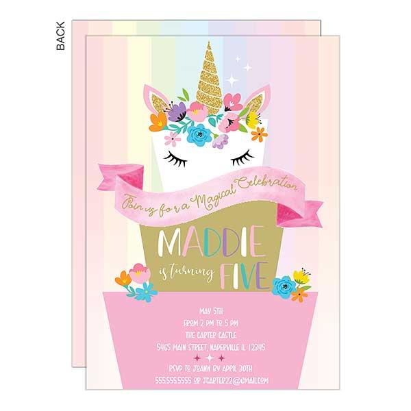 Magical Celebration Unicorn Birthday