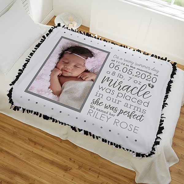 Baby Tie Blanket